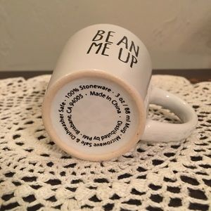 Kitchen - Bean Me Up Espresso Mug